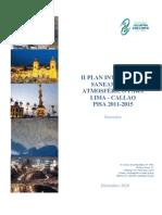 II (PISA) Plan Integral de Saneamiento Atmosférico Lima-Callao 2011-2015  Junio 2011 para Taller