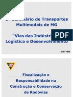 Fiscalização e Responsabilidade na Construção e conservação de Rodovias