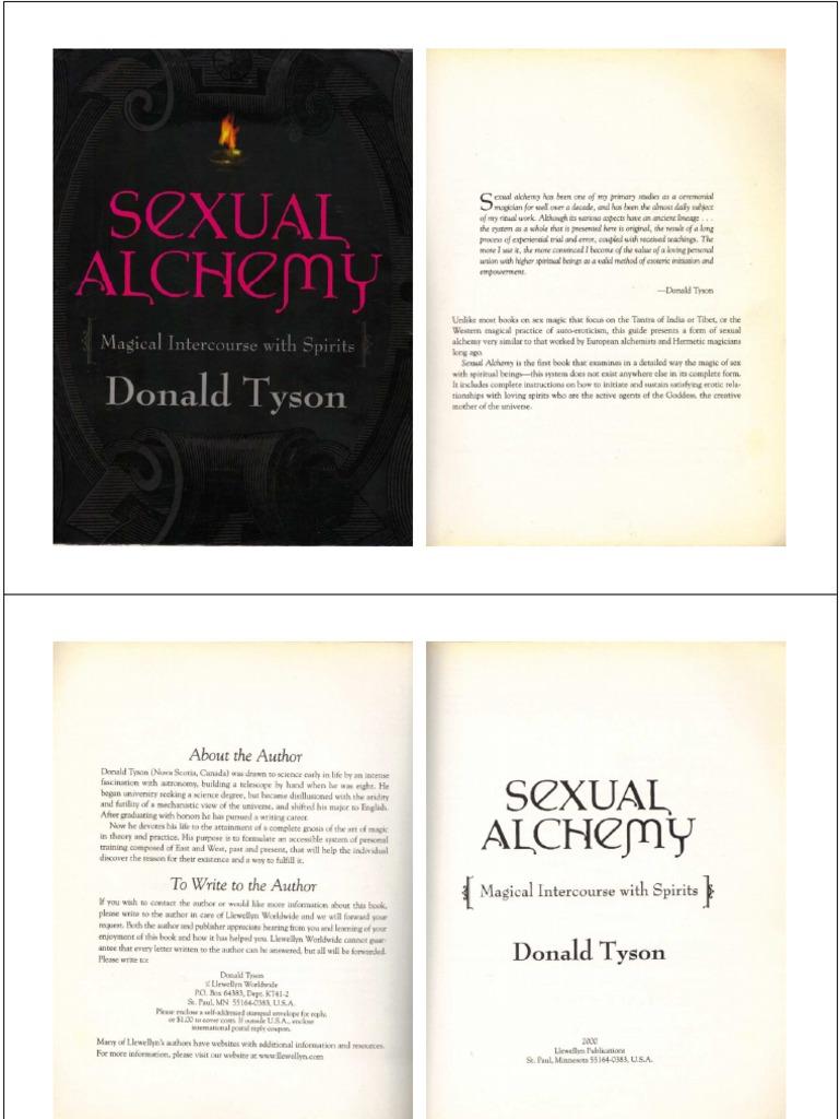 donald tyson sexual alchemy