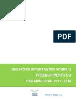 Questões_Importantes_-_PAR_municipal_2011_-_2014_-_1ª_versão