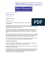 Healthy Water Research