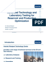 Advanced Technology and Laboratory Testing - Edmond Shtepani
