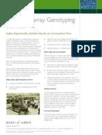 SNP Microarray Genotyping