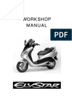 Peugeot Elystar Workshop Manual SH