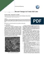 5-Investigation of Recent Changes in Urmia Salt Lake