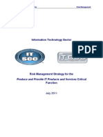 Itsrm for Product and Services Report