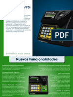 V70i Fingerprint Reader (Spanish)