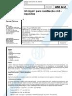NBR 06453 - 2003 - Cal virgem para Construção Civil