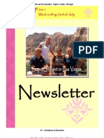 Newsletter Week 6 2011