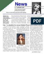 January 2007 Spot News