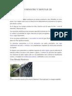 EJECUCIÓN, SUMINISTRO Y MONTAJE DE ESTRUCTURAS