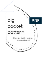 Big Pocket Pattern
