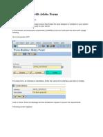 Sap Abap Adobe Forms