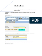Sap Abap Adobe Forms