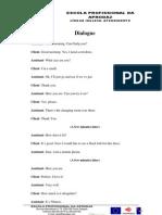 Trabalho de Pares Dialogue - Shop Clothes
