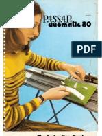 Passap Duo 80 Manual