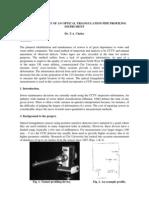 Optical 3-D Measurement Techniques 1995 Profiler