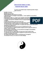 Instrucciones Para La Vida - Dalai Lama