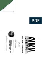 Baikal MP153 manuel d'utilisation en Français