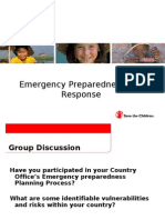 SC Emergency Preparedness and Response