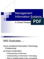Management Information Systems a Career Perspective 2530