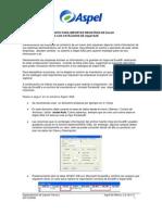 Importacion Inventarios de Excel a Aspel-SAE 4.0