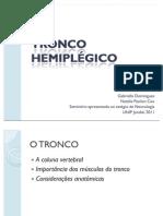 tronco hemiplégico