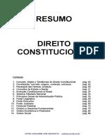 RESUMÃO DIREITO CONSTITUCIONAL