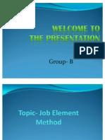 Job Element Method