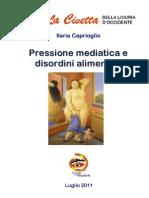 Pressione Mediatica e Disordini Alimentari