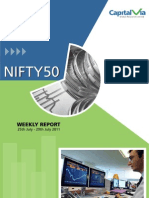 Nifty 50 Reports for the Week (25th - 29th July '11)