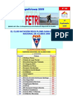 Ranking Clubes 2007 2008