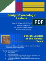 Benign Gynecologic Lesions
