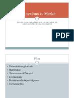 Etude comparative de portails de ressources pédagogiques en ligne