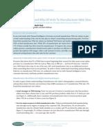 Forrester Manufacturer Websites