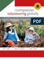 Global Companies Volunteering Globally