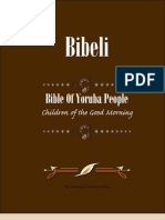 Bible of Yoruba People