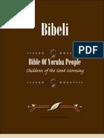 Bible of Yoruba People
