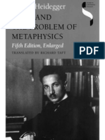Heidegger_Kant and the Problem of Metaphysics