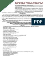 NORMA Oficial Mexicana NOM-197-SSA1-2000, Que establece los requisitos mínimos de infraestructura y equipamiento de hospitales y consultorios de atención médica especializada.