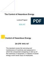 SK_Control of Hazardous Energy