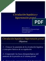 Circulación hepática e hipertensión portal