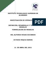 DEFINICIÓN, DESARROLLO Y TIPOS DE MODELOS