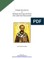 Chrysostome et le sens du pauvre