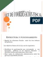 LEY DE COORDINACIÒN FISCAL