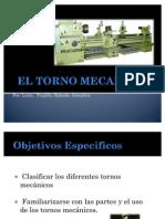 EL TORNO MECANICO