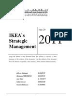 IKEA`s Strategic Management