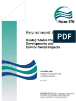 Australian Report on Biodegradable Plastics