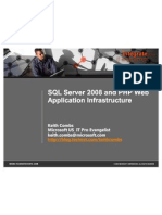 Using PHP With SQL Server 2008 - Customer Ready
