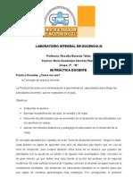 Mi Practica Docente Lab Oratorio Integral de Docencia